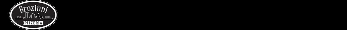 Brozinni Pizzeria – Nashville Indiana Logo